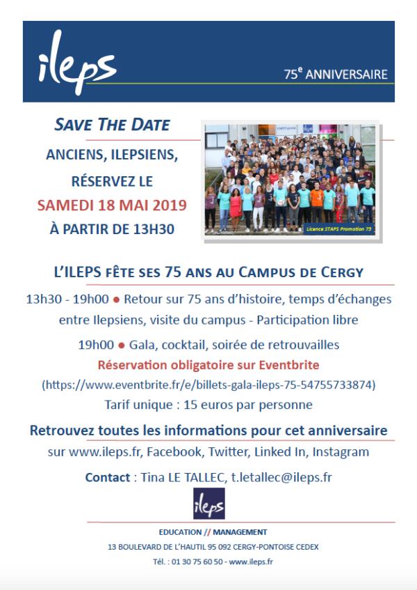 L'ILEPS fête ses 75 ans au Campus de Cergy